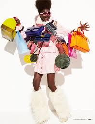 Blackwoman shopping